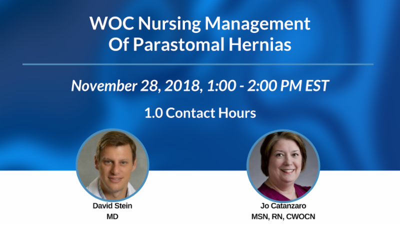 WOC Nursing Management of Parastomal Hernias-November 28-1PM ET