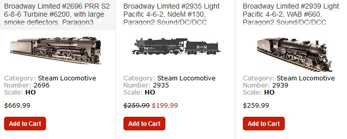 Broadway Limited HO P5a Just Arrived! Hot And In Stock!