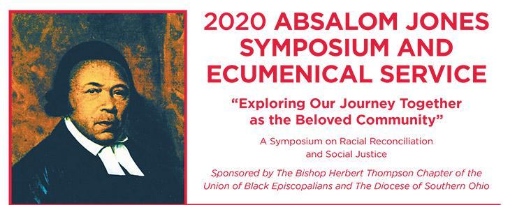 Absalom Jones celebration banner