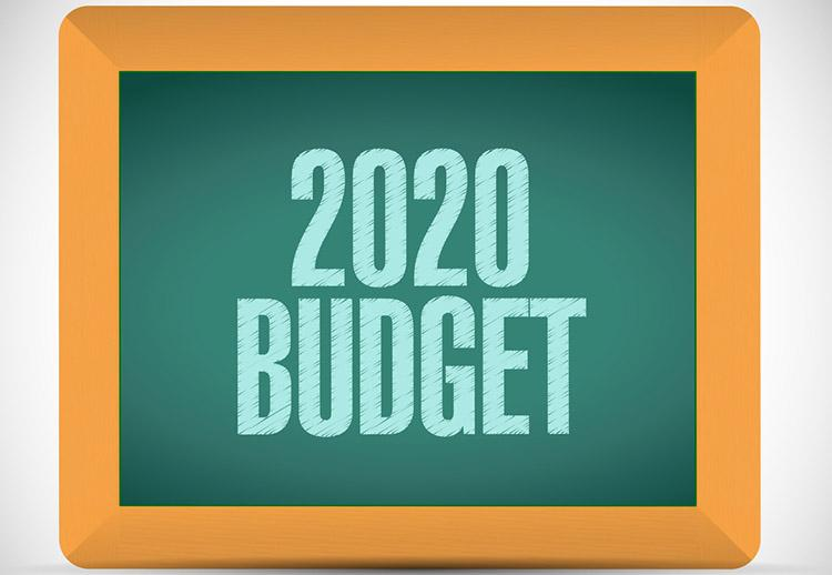 2020 Budget applications