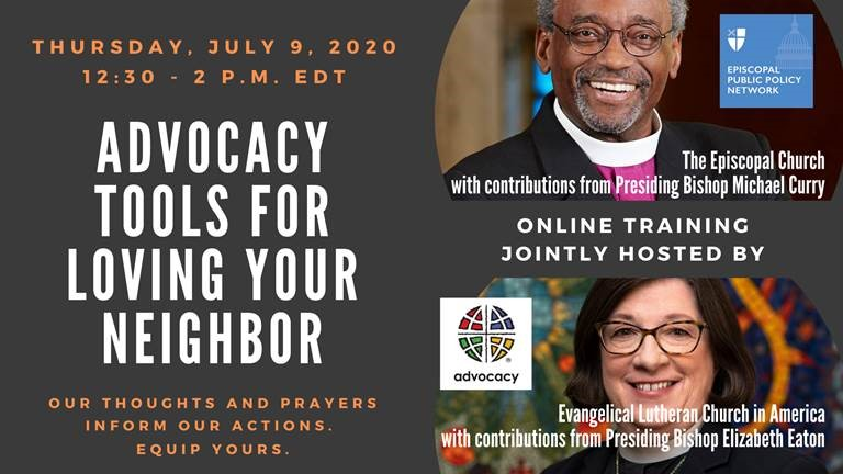 Advocacy Tools for Loving Your Neighbor ad