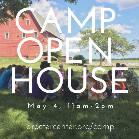 Camp Open House May 4