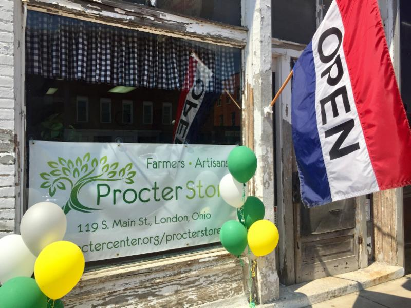 Procter Store front