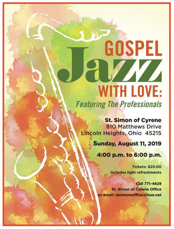 Jazz Gospel flyer