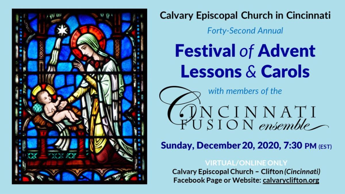 Calvary Lessons and Carols ad