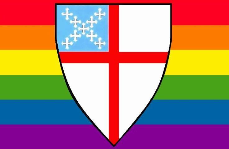 Episcopal Rainbow shield