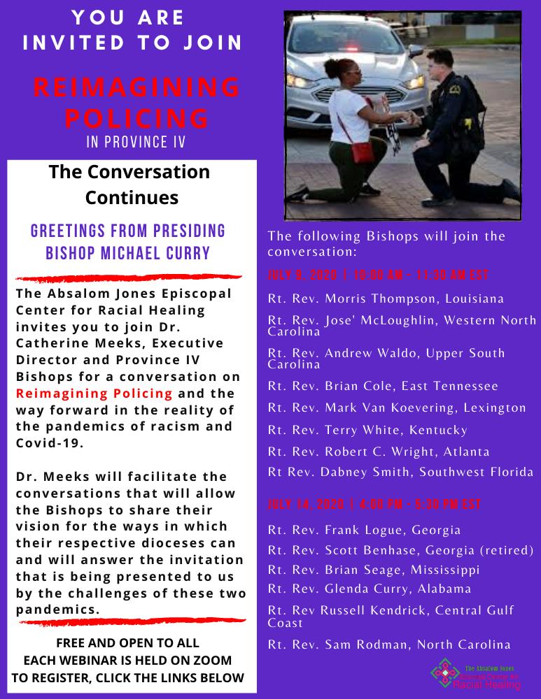 Reimagining Policing invite