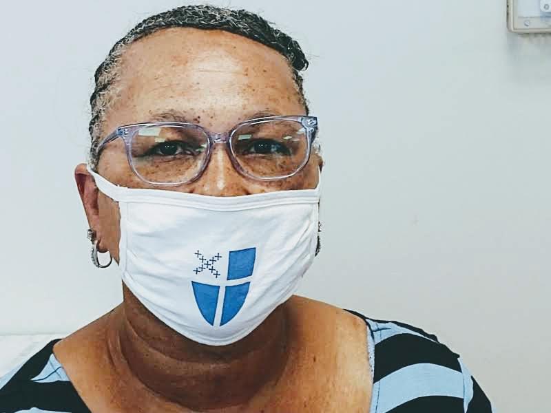 Episcopal shield mask