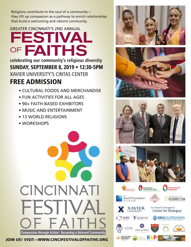 Festival of Faiths flyer