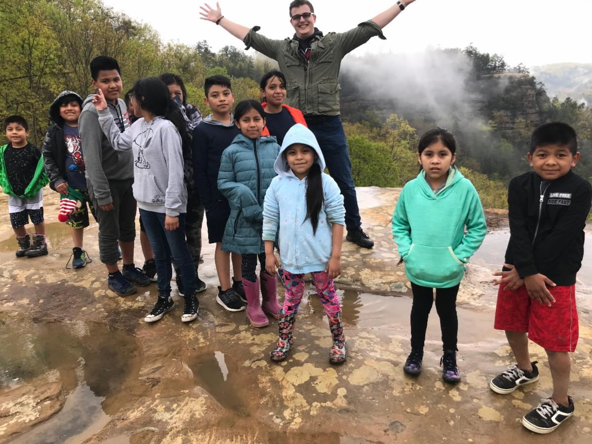 Transformations CDC kids at Red River Gorge