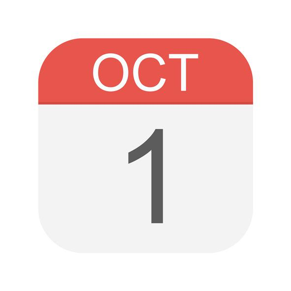 October 1 icon