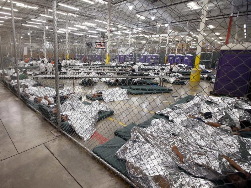 detention facility photo via Reuters