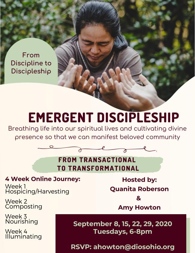 Emergent Discipleship flyer