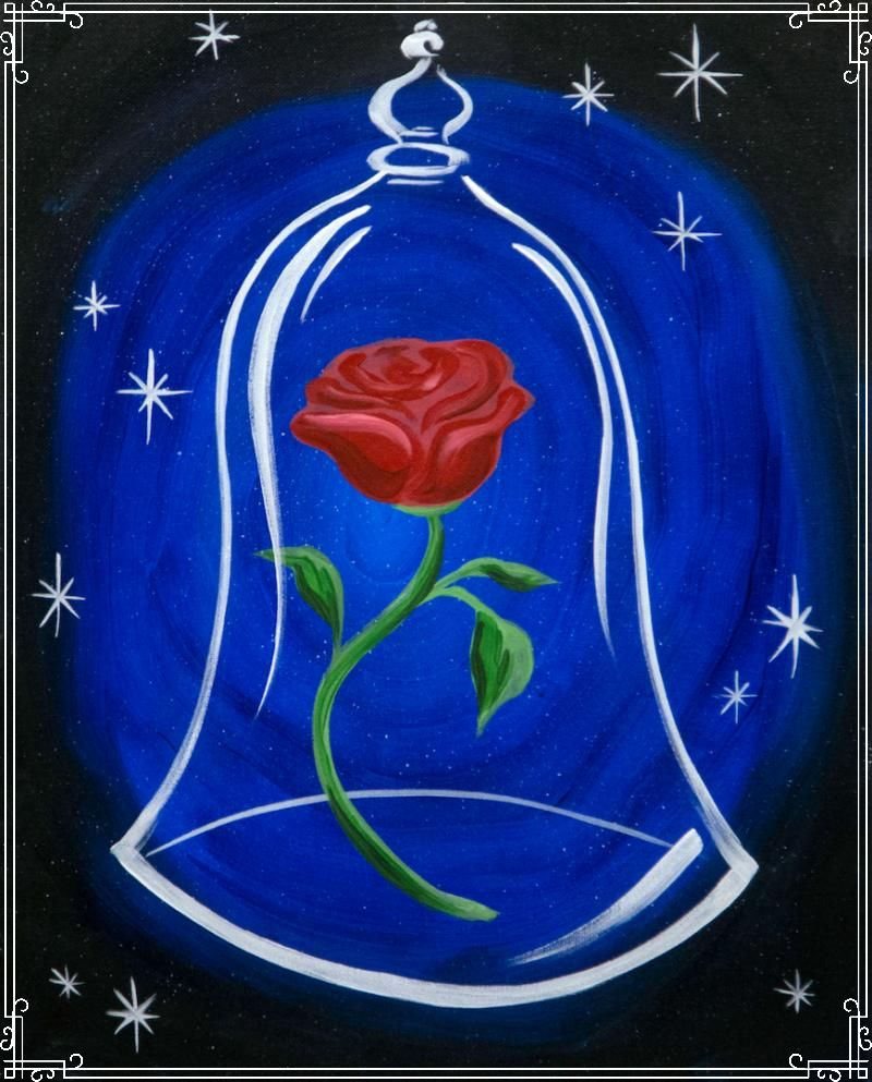 Rose of Love Painting