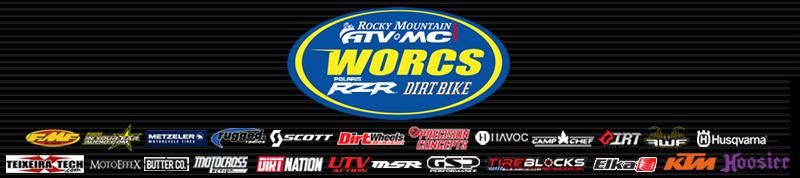WORCS BANNER - Rocky Mountain ATV/MC, Polaris RZR, Dirt Bike Magazine