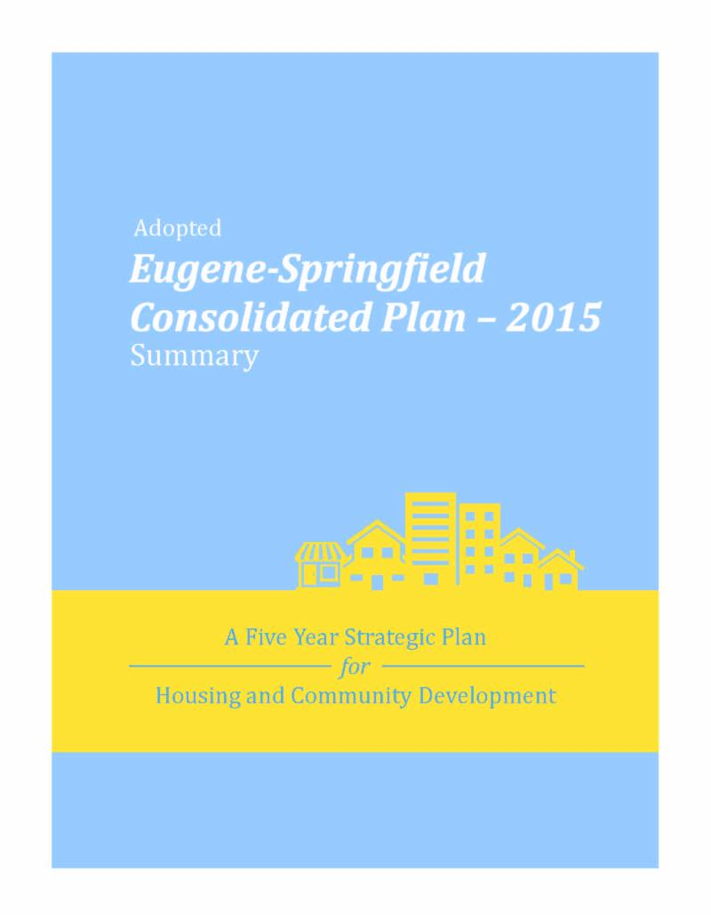 2015 Consolidated Plan