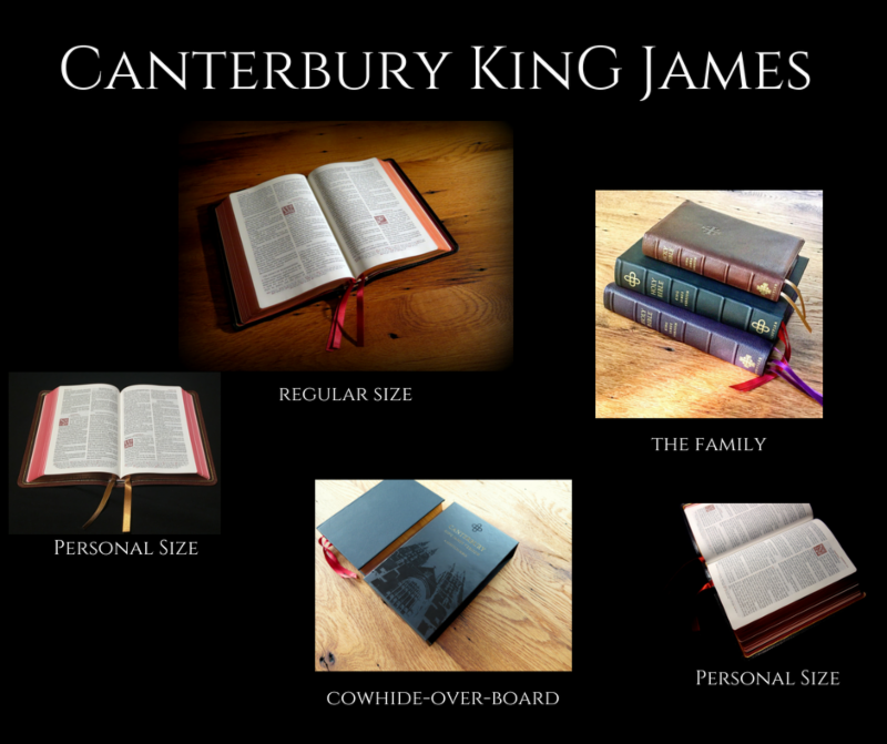 Canterbury KJV and Quentel NKJV (Sale - Lowest Price Ever)