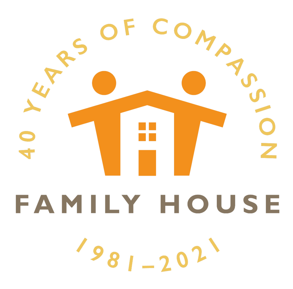 40th Anniversary Family House logo