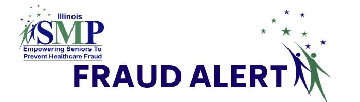 Illinois SMP Fraud Alert logo