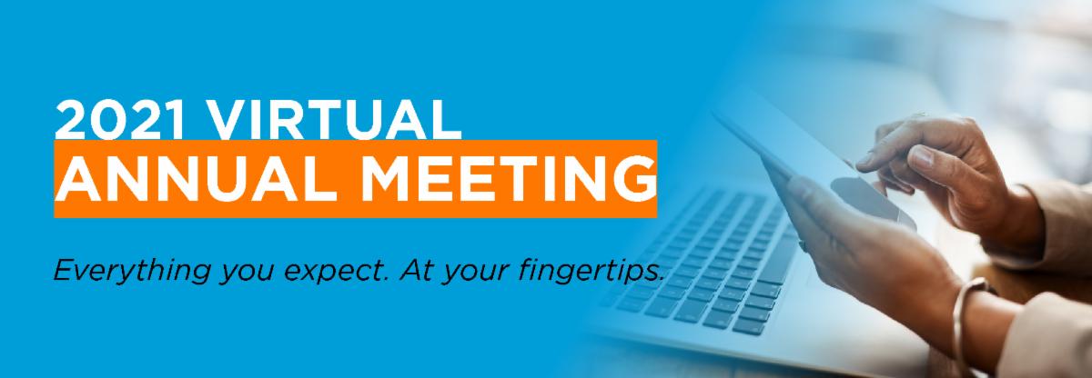 2021 Virtual Annual Meeting