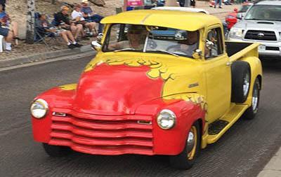 Super Cruise Vintage Car