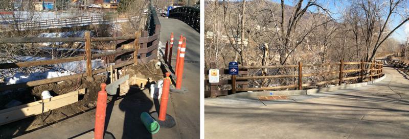 Billy Drew Bridge abutment work