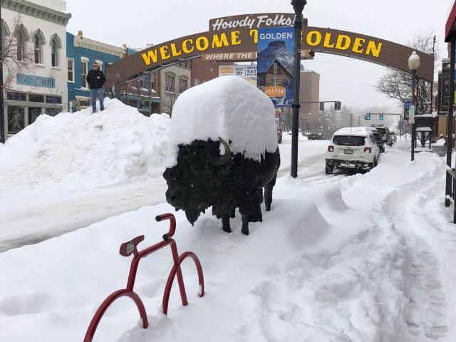 Snow day in Golden