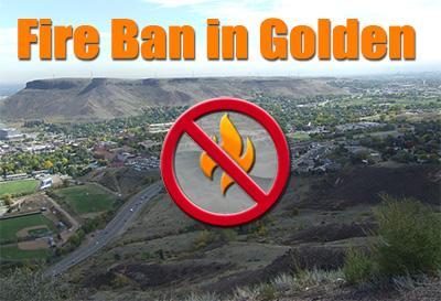 Fire Ban in Golden