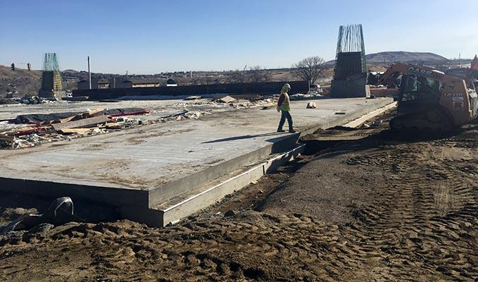 Linking Lookout Concrete Slab