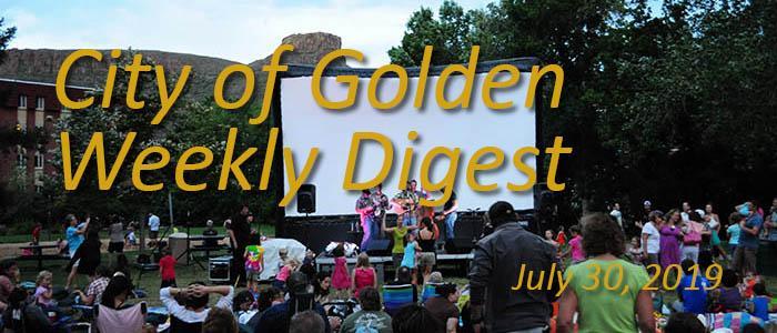 Weekly Digest July 30 2019