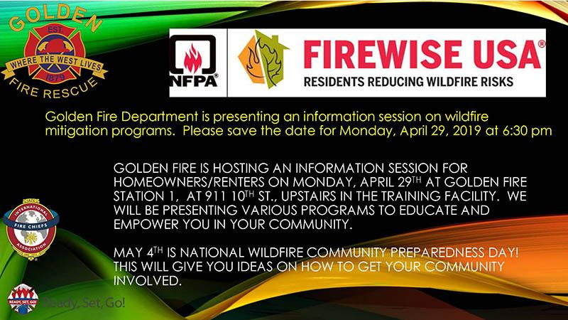 Wildfire Mitigation Info Session