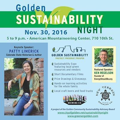 Golden Sustainability Night