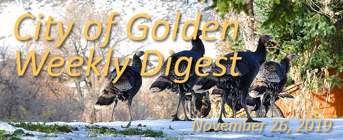 Weekly Digest November 26 2019