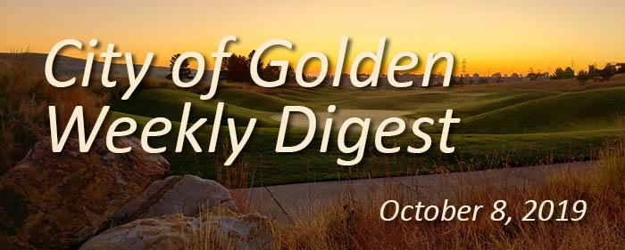 Weekly Digest for October 8 2019