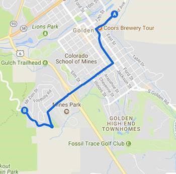 Colorado Classic Route Map 2018
