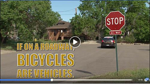 Bicycles are vehicles video