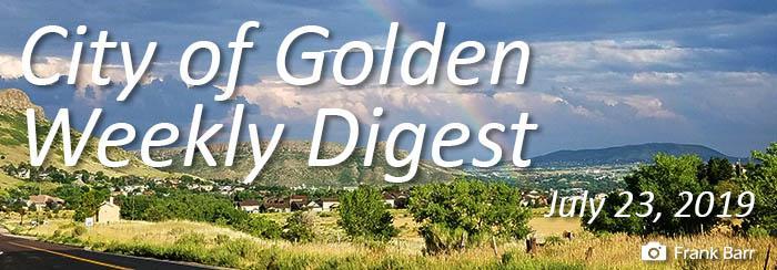 Weekly Digest July 23 2019