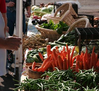 Farmers Market veggies