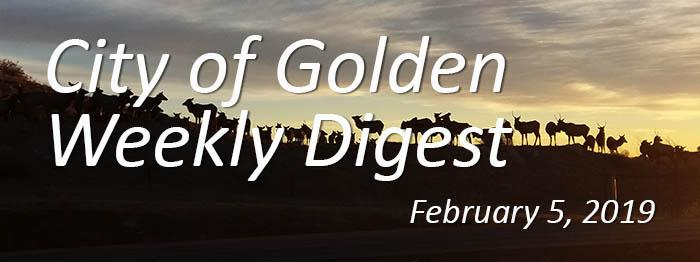Weekly Digest February 5 2019