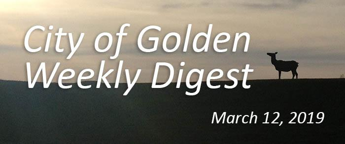 Weekly Digest - March 12 2019