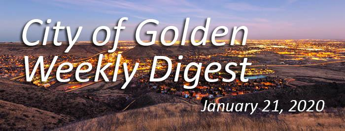 Weekly Digest January 21 2020