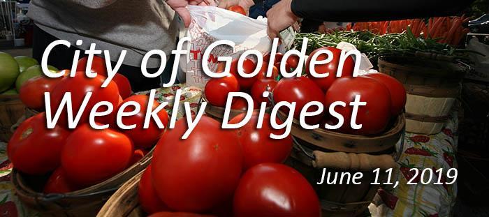 Weekly Digest June 11 2019