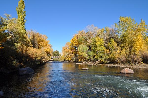 Clear Creek in the Fall
