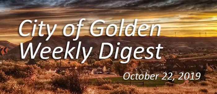 October 22 2019 Weekly Digest