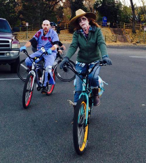 Bicycle Cruise Zombies