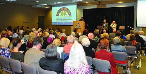 Mayors Award Crowd