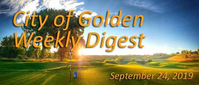 Weekly Digest September 24 2019