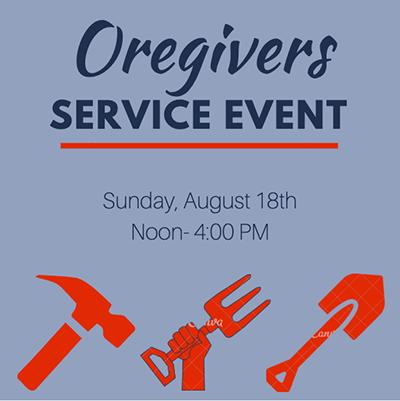 Oregivers Service Event