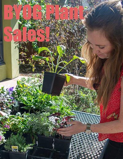 BYOG Plant Sale