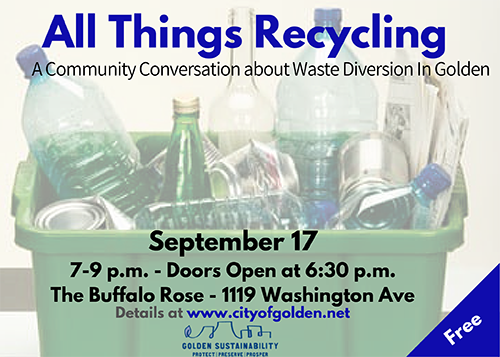 All Things Recycling Event Sept 17